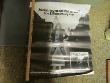 ELLIOT MURPHY rare USA  RCA Night Lights promo poster for vinyl  lp release