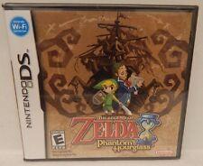 Nintendo DS THE LEGEND OF ZELDA PHANTOM HOURGLASS Video Game (NIP)
