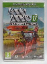 FARMING SIMULATOR 17  - PLATINUM EDITION PC NEW SEALED PC EDITION VIDEOGAME