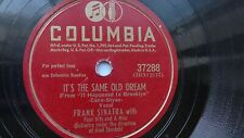 Frank Sinatra 78rpm Single 10-inch Columbia Records #37288 It's The Same Old....