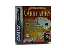 NEW Ultimate Card Games for Game Boy Advance System Poker hearts Spades Bridge