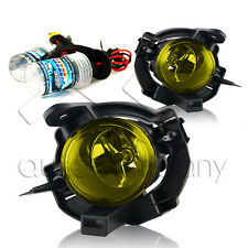 For 08-13 Rogue Fog Light Set w/Wiring Kit & HID Conversion Kit - Yellow
