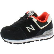 Tenis new balance chicos del Niño Negro Zapatos 4 mediano (D) del niño BHFO 3617