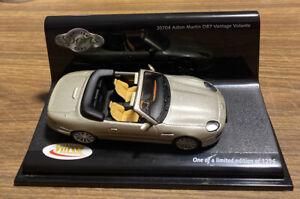 BNIB Vitesse 1:43 Gold ASTON MARTIN D87 VANTAGE VOLANTE. Ltd Ed / Cert 0198/1296