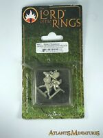 Metal Army of Gondor Lossarnach Infantry - Rare - OOP - Mithril Miniatures C472