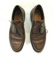 ECCO Shock Point Men's Brown Leather Lace Up Oxford Shoes Sz 44 US 11