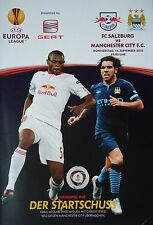 Program Uefa El 2010/11 Fc Salzburg - Manchester City