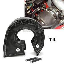 T4 Black Glass Fibre Turbo Blanket Heat Shield Barrier Turbocharger Cover Wrap