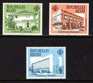 Seychelles 1987 The 100th Anniversary of Banking in Seychelles