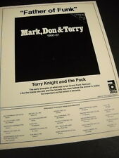 TERRY KNIGHT AND THE PACK Father Of Funk ...Grand Funk Railroad promo ad