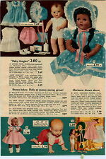 1953 ADVERT Ideal Negro Colored Black Doll Dolls Topsy Drink N Wet