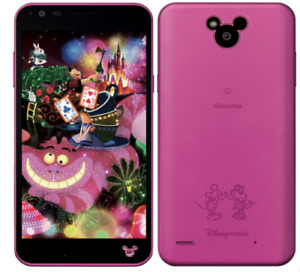 LG Disney Mobile on docomo DM-02H Android Phone Unlocked Pink used
