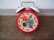 1980'S POSTMAN PAT ALARM CLOCK MADE IN HUNGARY ORIGINAL USED WORKING