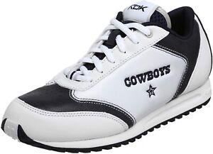 BNWOB Reebok Women's NFL Cowboys Passion Sneaker Size 12 Blue White DALLAS COWBO