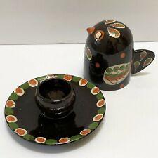 Ceramic Bird Candle Holder GSTAAD Made in Switzerland