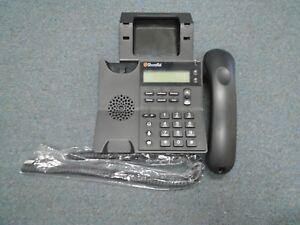 Shoretel Shorephone Model IP 420 IP VOIP Display Telephone W/ Handset & Stand #A