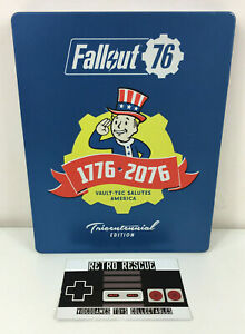 Fallout 76 Tricentennial Collectors Edition Steelbook Game Playstation 4 PS4 PAL