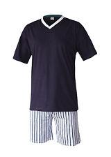 Pijama Corto Moda de Hombres Pantalones 100% Algodón M L XL XXL 3XL Talla