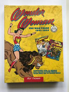 Wonder Woman: The War years 1941-1946 ' Roy Thomas Superman Book - Like New