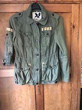 Womens Military Jacket Size 8 River Island