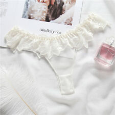 Fashion Sexy Lace Underwear Women V-string Panties Lingerie Thongs G-string