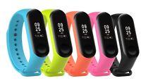 Fitness Tracker Silikon Strap Armband Ersatzband für Xiaomi Mi Band 4 / 3