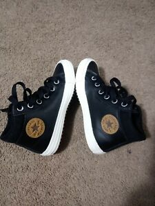 Converse Chuck Taylor All Star PC Boot Sole Full of Gum Junior Size 2 Leather