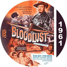 "Bloodlust! (1961) Classic Sci-fi and Horror CULT ""B"" NR Movie DVD"