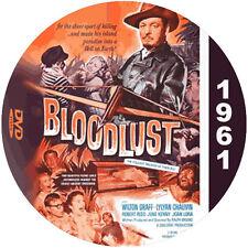 "Bloodlust! (1961) Classic Sci-fi and Horror CULT ""B"" NR Movie DVD"