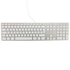 Apple Tastatur MB110D/B Kabelgebunden mit Ziffernblock QWERTZ für MAC