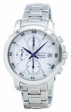 Seiko SPL029 Premier 44MM Men's Chronograph Stainless Steel Watch