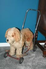 Vintage push along / ride on dog - Pedigree toys, Northern Ireland Lines, triang