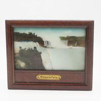 Vintage Niagara Falls Print Framed