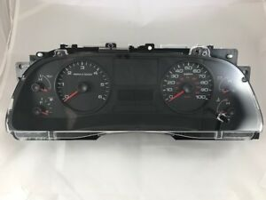 2005-2007 Ford F250,350,450,550 Instrument Cluster 6C3T10849LC MPH Gas Standard