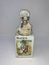 Beatrix Potter Lady Mouse Figurine 1951 F. Warner & Co Beswick England Vintage