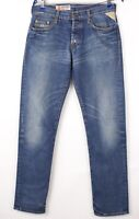 Replay Hommes Jeans Jambe Droite Taille W30 L32 BBZ537