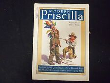 1928 AUG THE MODERN PRISCILLA MAGAZINE - ILLUSRATIONS, STORIES & ADS - ST 3968