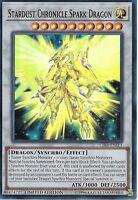 YU-GI-OH CARD: STARDUST CHRONICLE SPARK DRAGON - SUPER RARE - CIBR-ENSE1