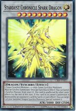 YU-GI-OH CARD: STARDUST CHRONICLE SPARK DRAGON - SUPER RARE - CIBR-ENSE1