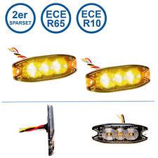 2er Sparset LED-MARTIN® R65 Blitzmodul SF3 - super flach - 12V 24V - mit ECE-R65