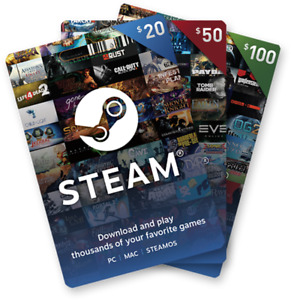 $150 Steam Digital Prepaid - $150 USD Steam Wallet Code - Global -