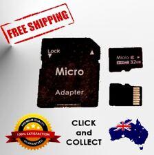 Micro SD Memory Card, Adapter, 32gb Micro SD, 64gb Micro SD, 128gb Micro SD.