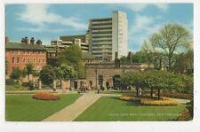 Castle Gate & Gardens Nottingham 1967 Postcard 604a