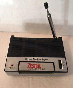 ZESTRIL promo Weather Station FM receiver model 46 223 Lisinopril Stuart vintage