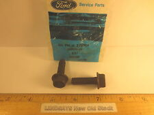 2 BOLTS 3/8-16 X 1.25 HEX HEAD FLANGE FORD 390530-S2 UNOPENED NOS FREE SHIPPING