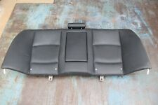 OEM BMW F10 528i 11-16 Rear Back Upper Top Seat Cushion BLACK Leather