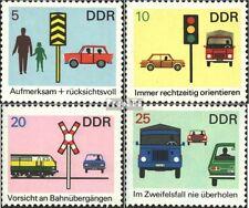 DDR 1444-1447 (kompl.Ausgabe) gestempelt 1969 Verkehrssicherheit EUR 0,70