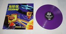 Man or Astro-man? Intravenous Television Continuum,1st UK Purple Vinyl LP 1995