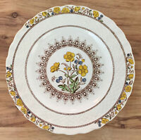 """Copeland Spode BUTTERCUP Pattern BREAD & BUTTER PLATE China 2/7873 VINTAGE 6.5"""""""