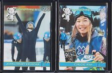 CHLOE KIM Gold Rookie Card 1/100 2018 OLYMPICS
